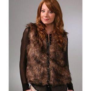BB Dakota | Faux Fur BOHO Toggle Vest